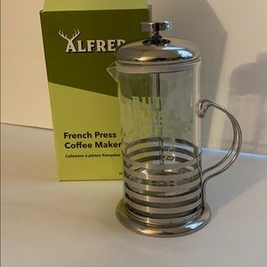 Alfred French Press But First, Coffee